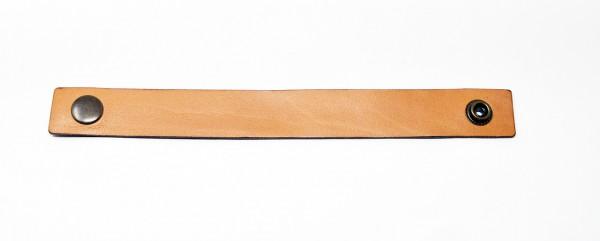 Lederarmbänder soft breit mit Wunschgravur